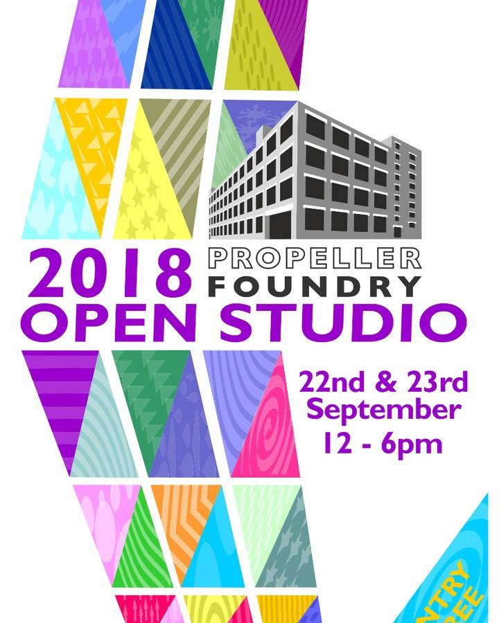 Propeller Foudry Open Studio 2018